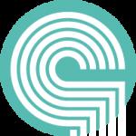 Symbol des Glaserhandwerks in grün